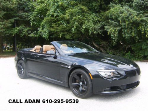 2010 Bmw 650i Convertible Sport Package With Images Bmw 650i