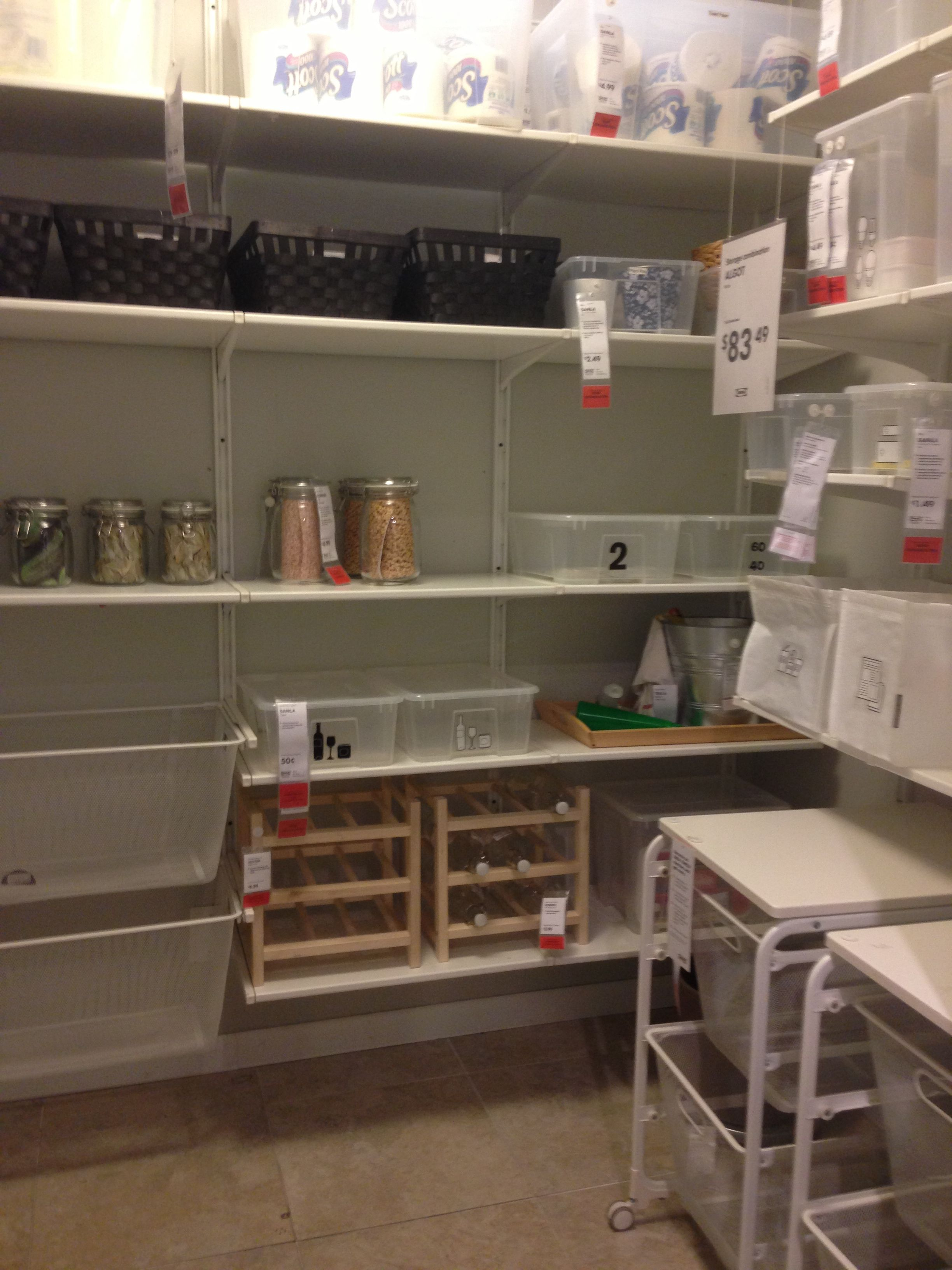 Ikea Küche Organisation Algot Pantry Storage Also Check Ivar Wooden Storage