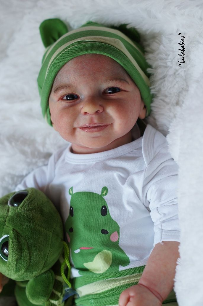 about From Lulababies amazing reborn baby boy Rieke by