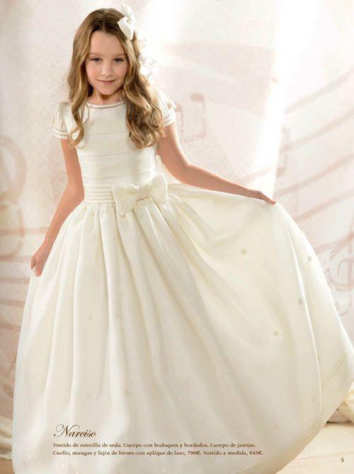 2d04ba68a vestido comunión lazo cintura el corte inglés