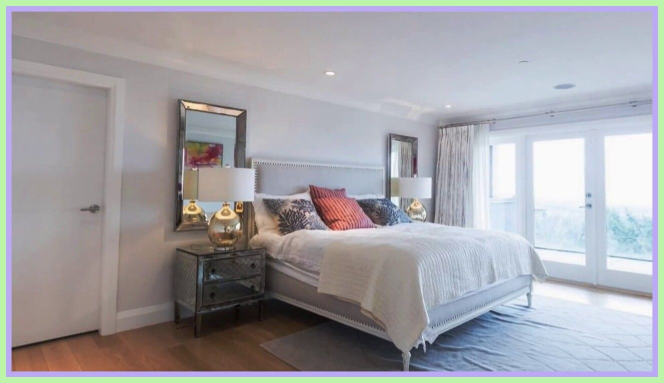 A Master Bedroom I Designed For A Lovely Young Couple In Manhattan Beach California Apartment Bedroom Decor Elegant Bedroom Master Bedrooms Decor