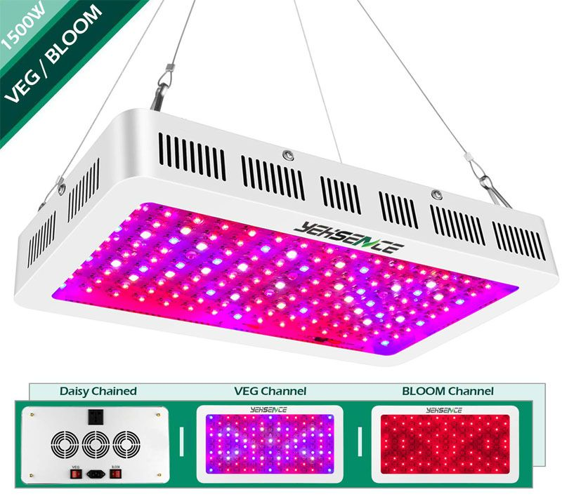 Yehsence 1500w Led Grow Light Review Read Before You Buy Led Grow Lights Grow Lights Best Led Grow Lights