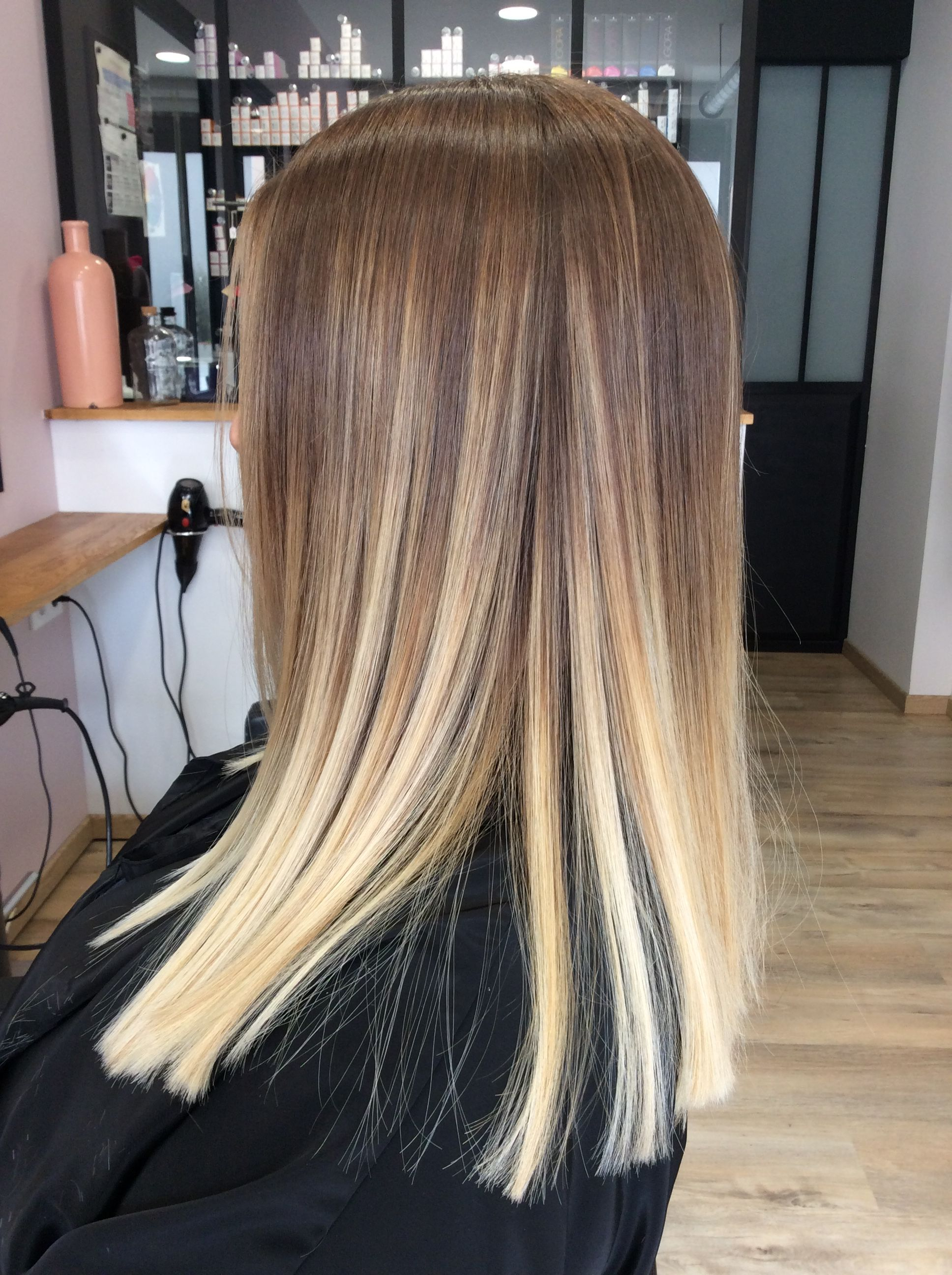 What I Don T Want Ombre Hair Blonde Balayage Straight Hair