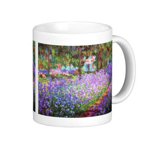The Artist's Garden at Giverny, Claude Monet Mug
