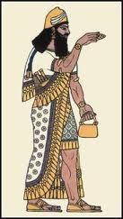 Assyrian men costume