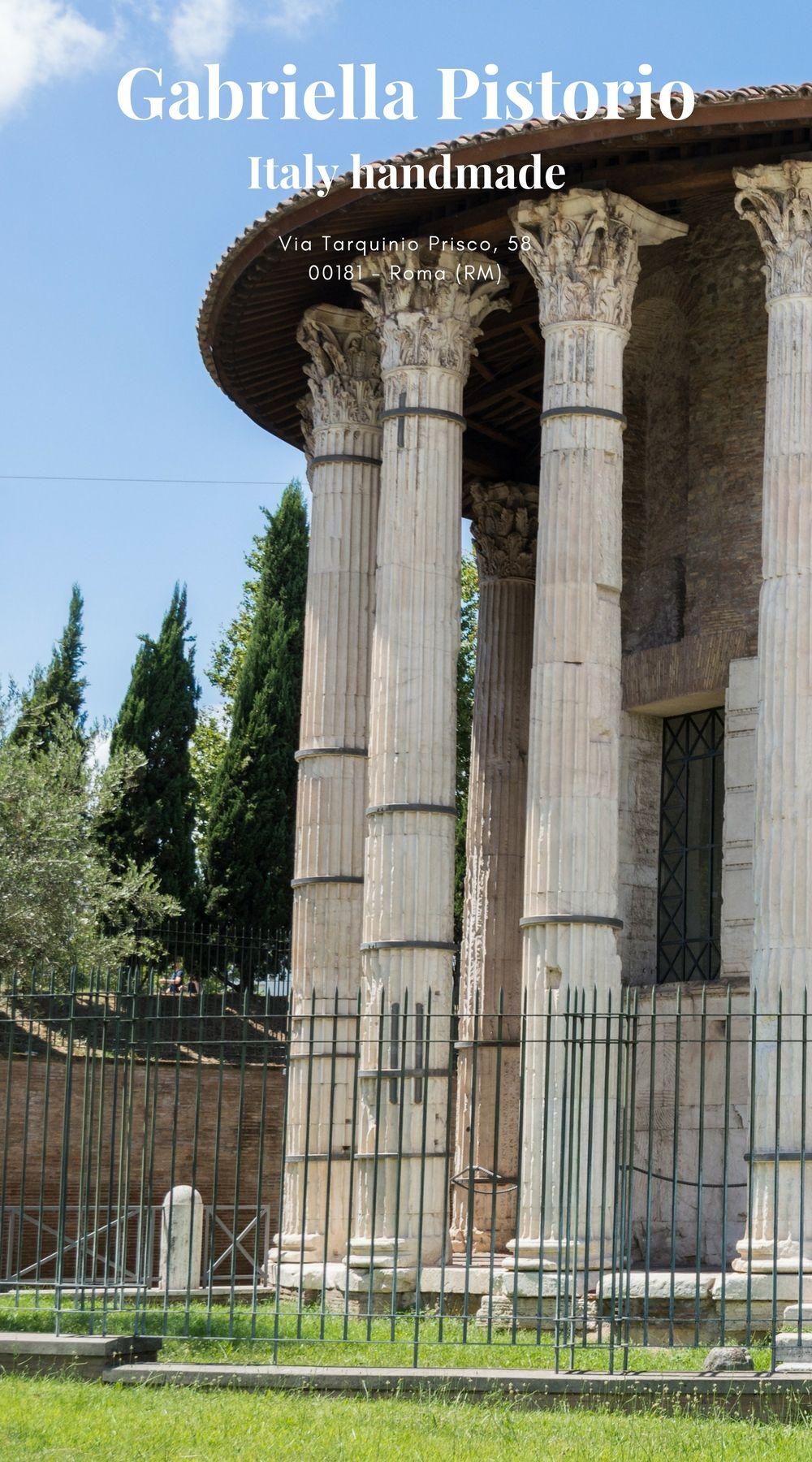 Gabriella Pistorio Roma Rome Quote Rome Was A Poem