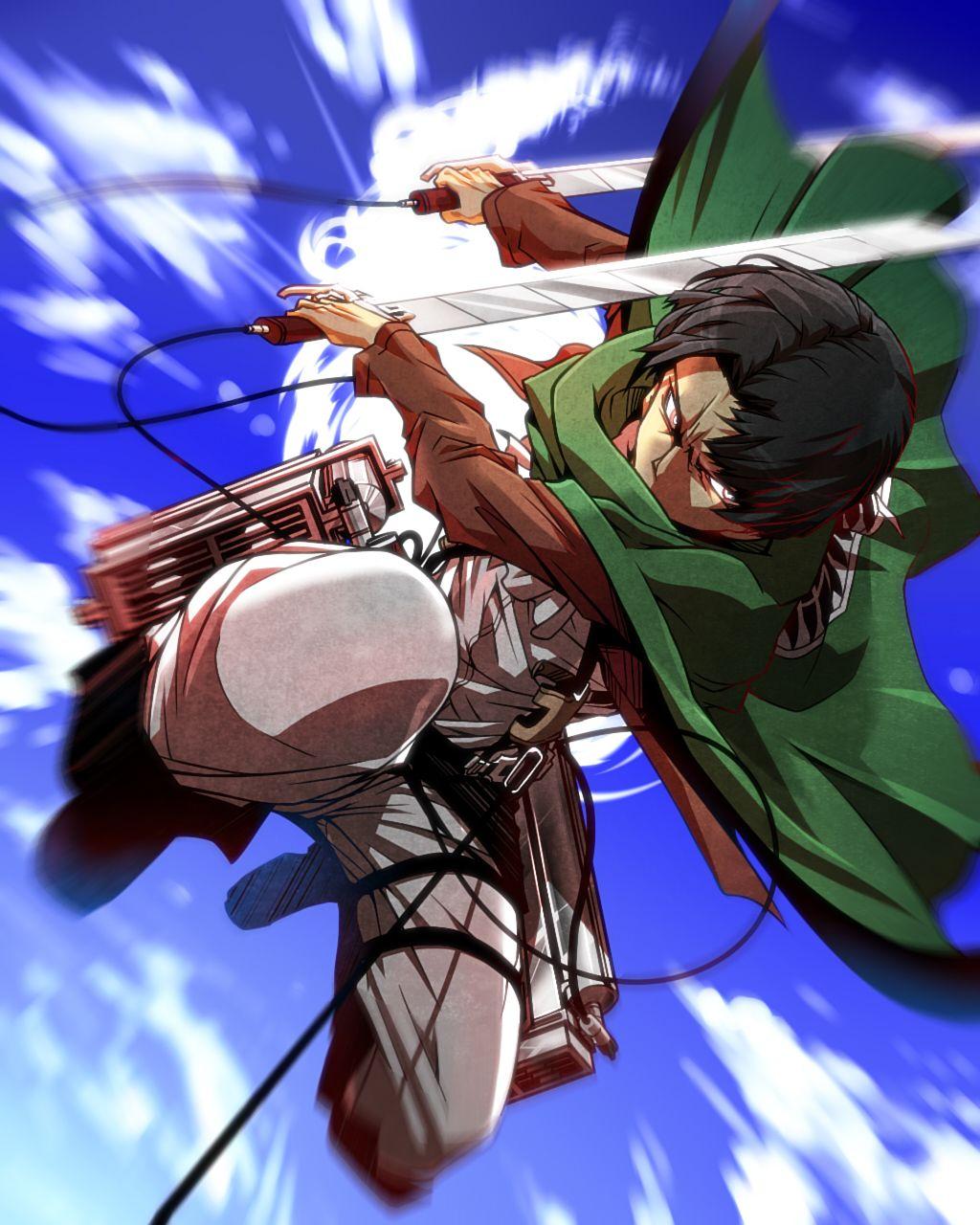 Shingeki No Kyojin, Attack On Titan, Levy Rivaille