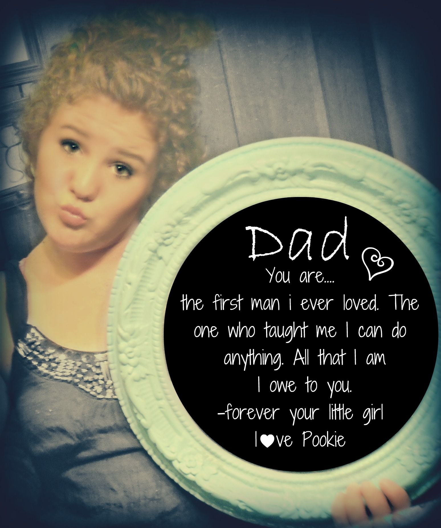 fathers day present! HAPPY FATHERS DAY DAD i♥u!