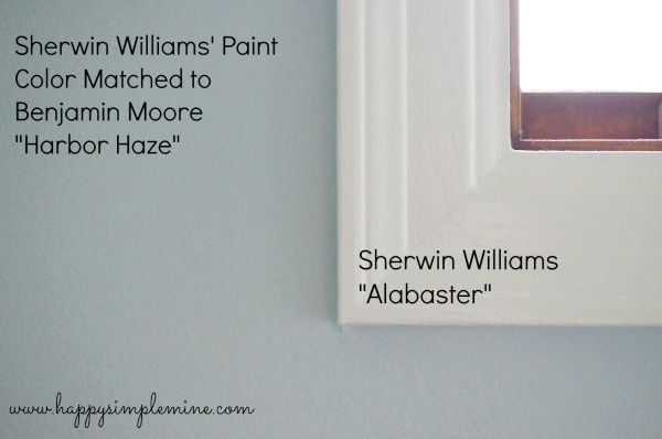 Sherwin Williams Alabaster White Trim And Cabinetry Wall Colors