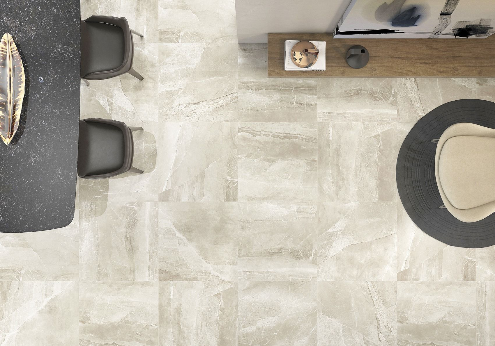 Kashmir Hueso Is One Of The Most Por Spanish Tiles At Tfo Love Sophisticated Look Marble In A Large Format Porcelain Tile