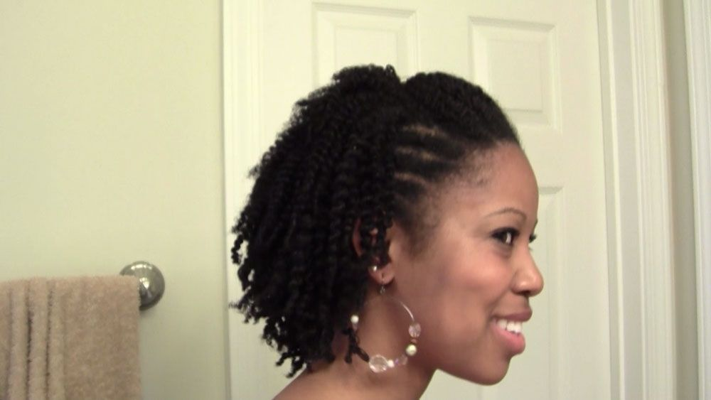 Natural Hair Protective Styles For Short Hair Bakuland ...