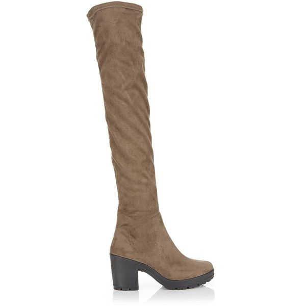 Miss SelfridgeKYLIE - Over-the-knee boots - grey 2lGAY6