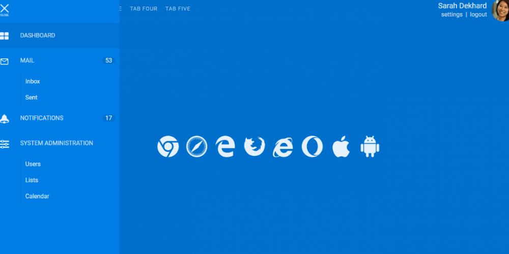 16 CSS Sliding Menu Examples (Slide Menu) Css, Represent
