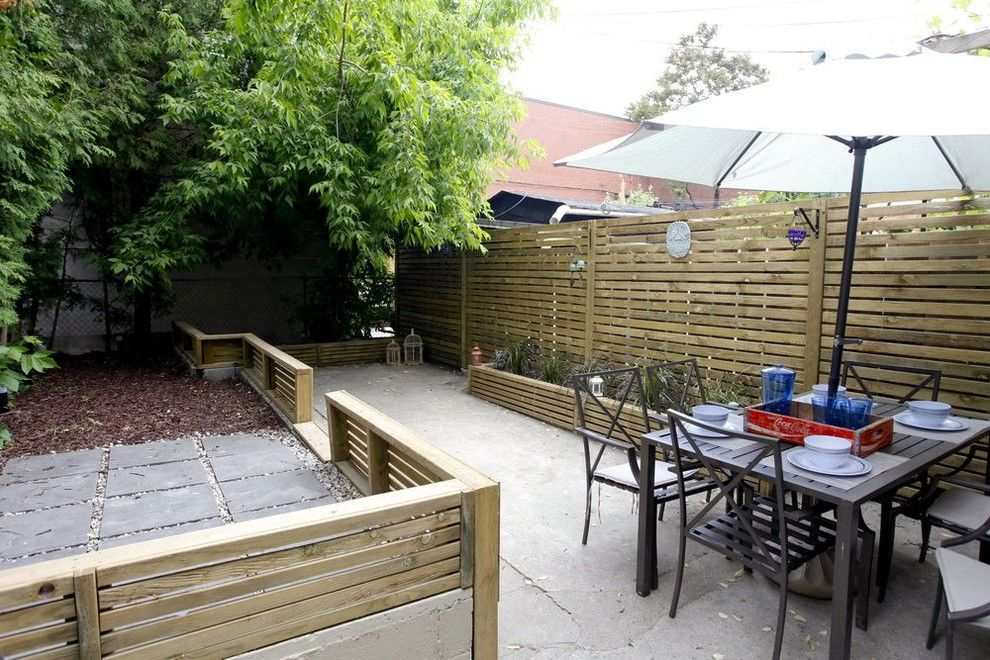 Beautiful Horizontal Fence Panels Patio Contemporary With Backyard Chairs Outdoor  Dining Furniture Patio Pressure