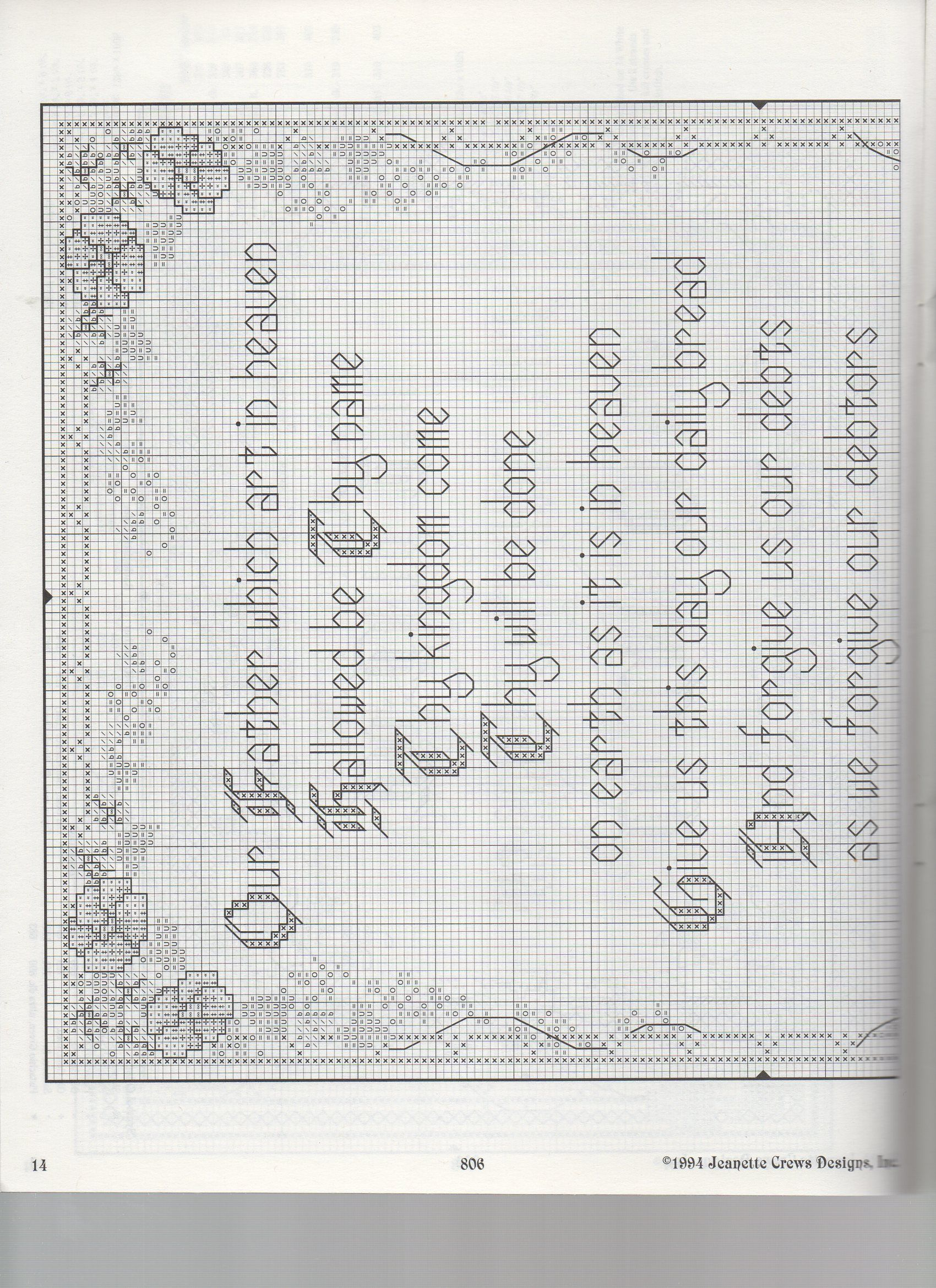 The Lord S Prayer Alternate Design 1 Cross Stitch Samplers
