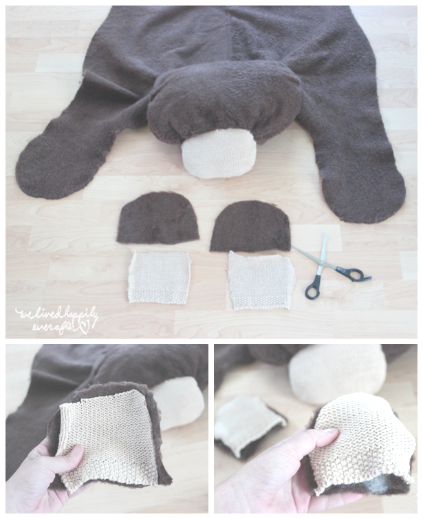 Make Your Own Bear Rug For 6 Pattern Tutorial We Lived Happily Ever After Bear Rug Nursery Bear Rug Baby Rugs
