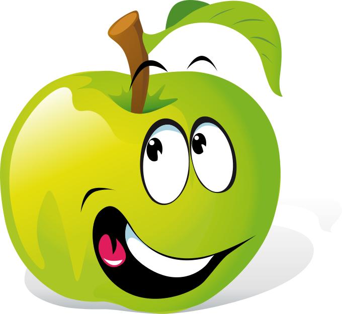 Cartoon Apple Kresby, Deti, Obrázky