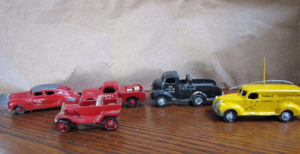 Corgi Toys  234 Ford Consul Sedan Empty Repro Box