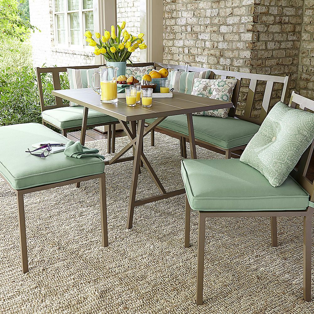 Jaclyn Smith Carrabelle 6 Piece Dining Set - Outdoor