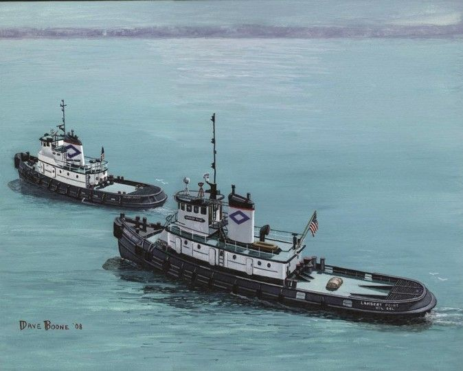 Tugboats: The Art of Dave Boone Exhibit opening Philadelphia, PA #Kids #Events