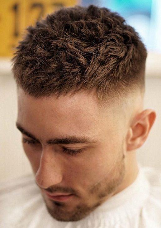Frisuren manner kurz rundes gesicht