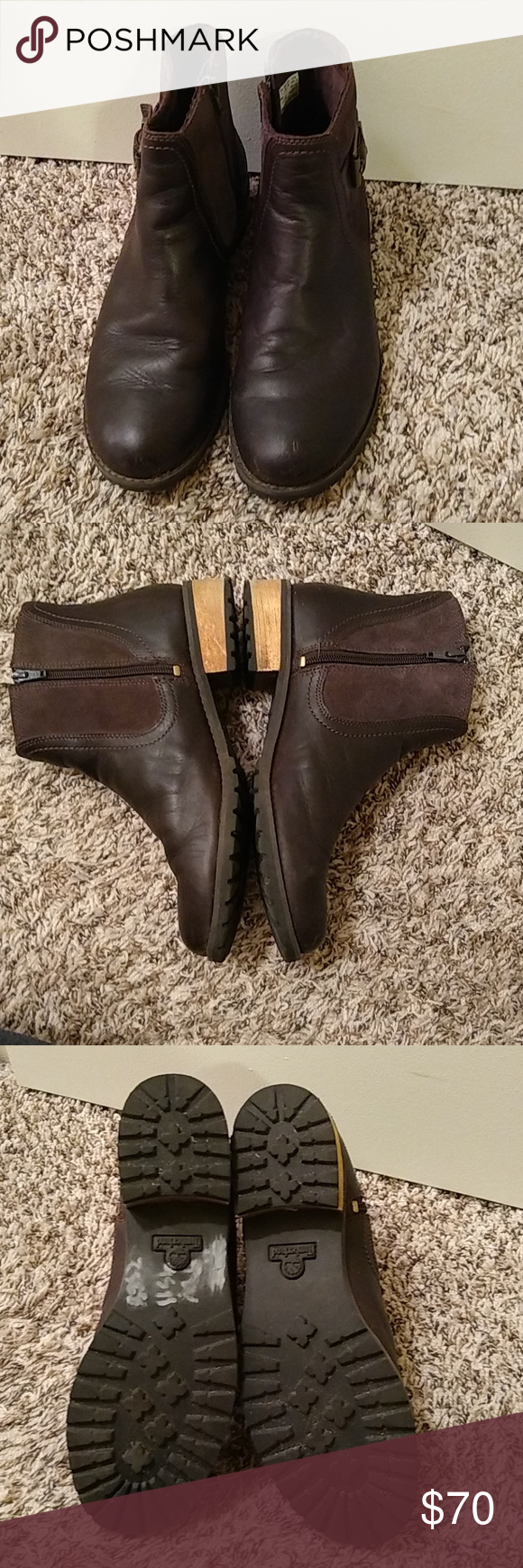 new arrive a few days away the best attitude Brown Timberland Bethel ankle boot size 9 Great Timberland ...