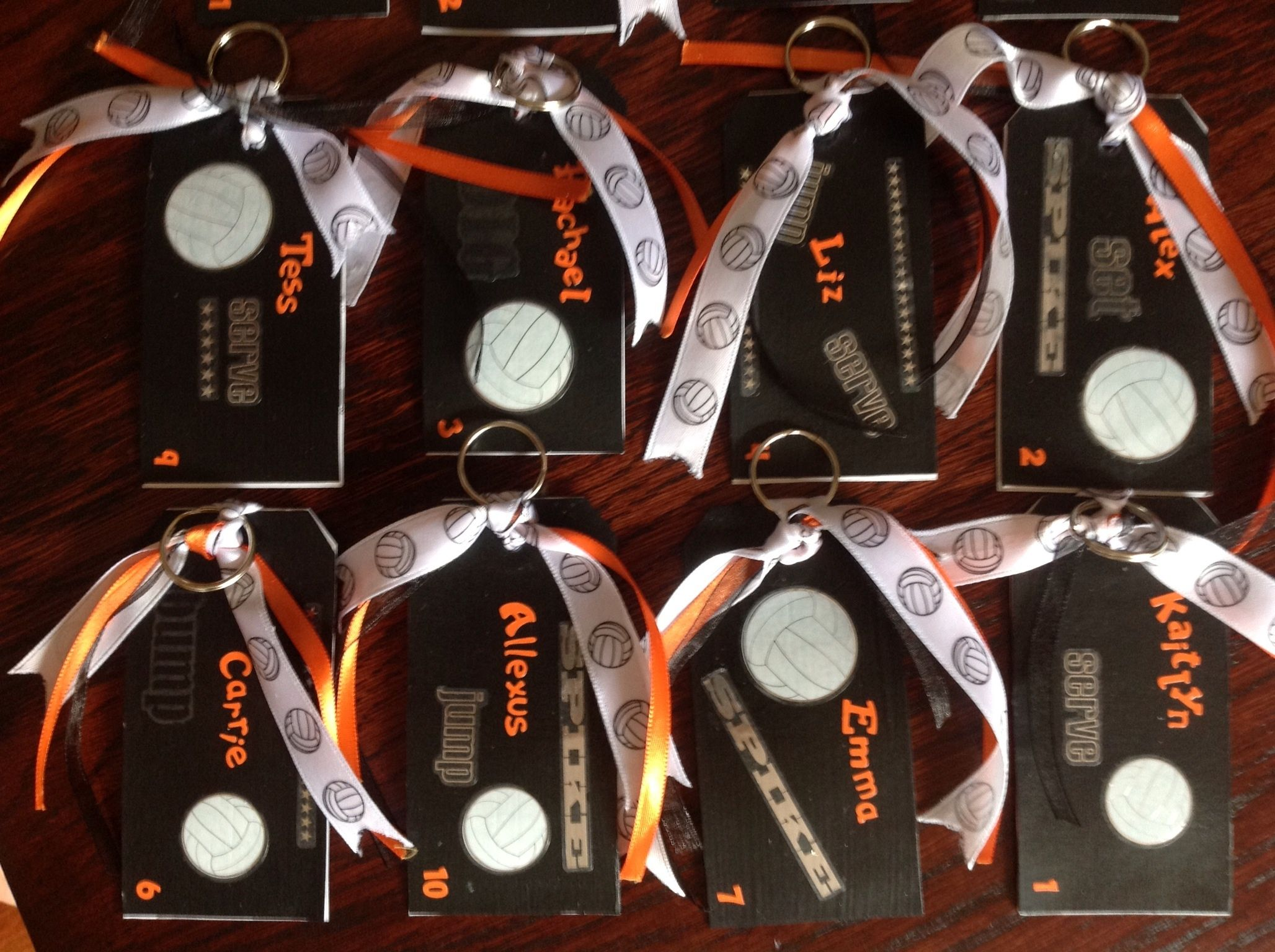 Volleyball bag tags projects to try pinterest volleyball volleyball bag tags negle Images
