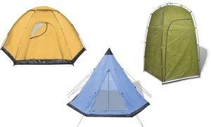 Ces tentes sont proposées en plusieurs modèles, pour le camping, pour le rangement ou pour la douche