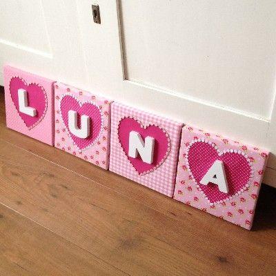 schilderijtjes luna - luna | pinterest - canvas stof, slaapkamer, Deco ideeën