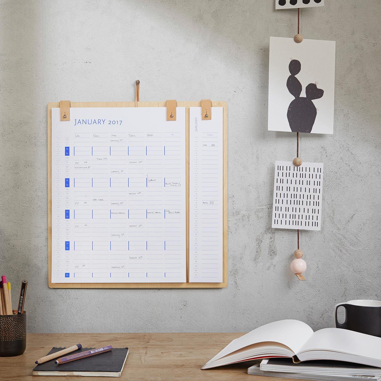 Planner Board Kalender 2017 2018