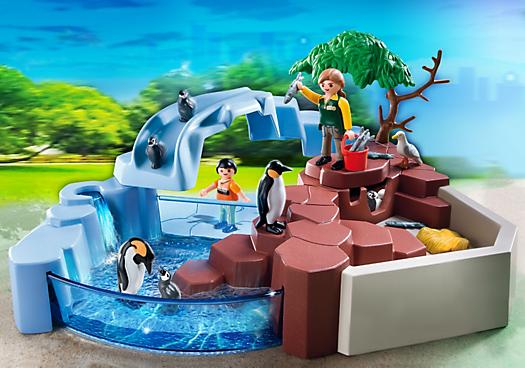 Superset penguin habitat pm usa playmobil usa text - Piscina playmobil amazon ...