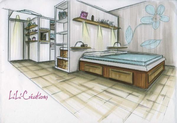 afficher l 39 image d 39 origine croquis de d coration pinterest croquis d corations et images. Black Bedroom Furniture Sets. Home Design Ideas
