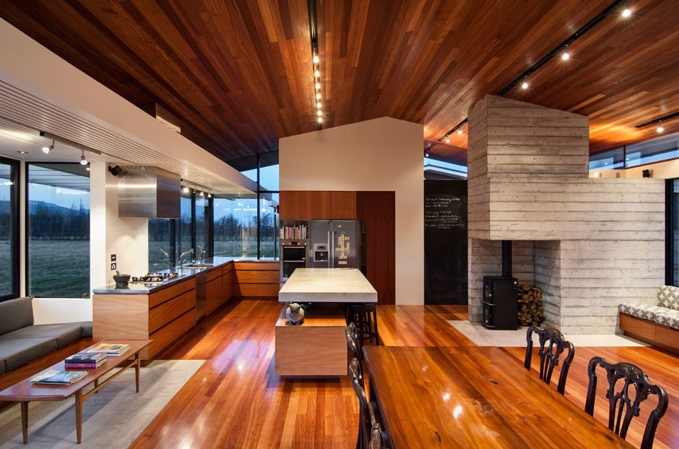 Gallery of Wairau Valley House \/ Parsonson Architects - 1 - luxus kche