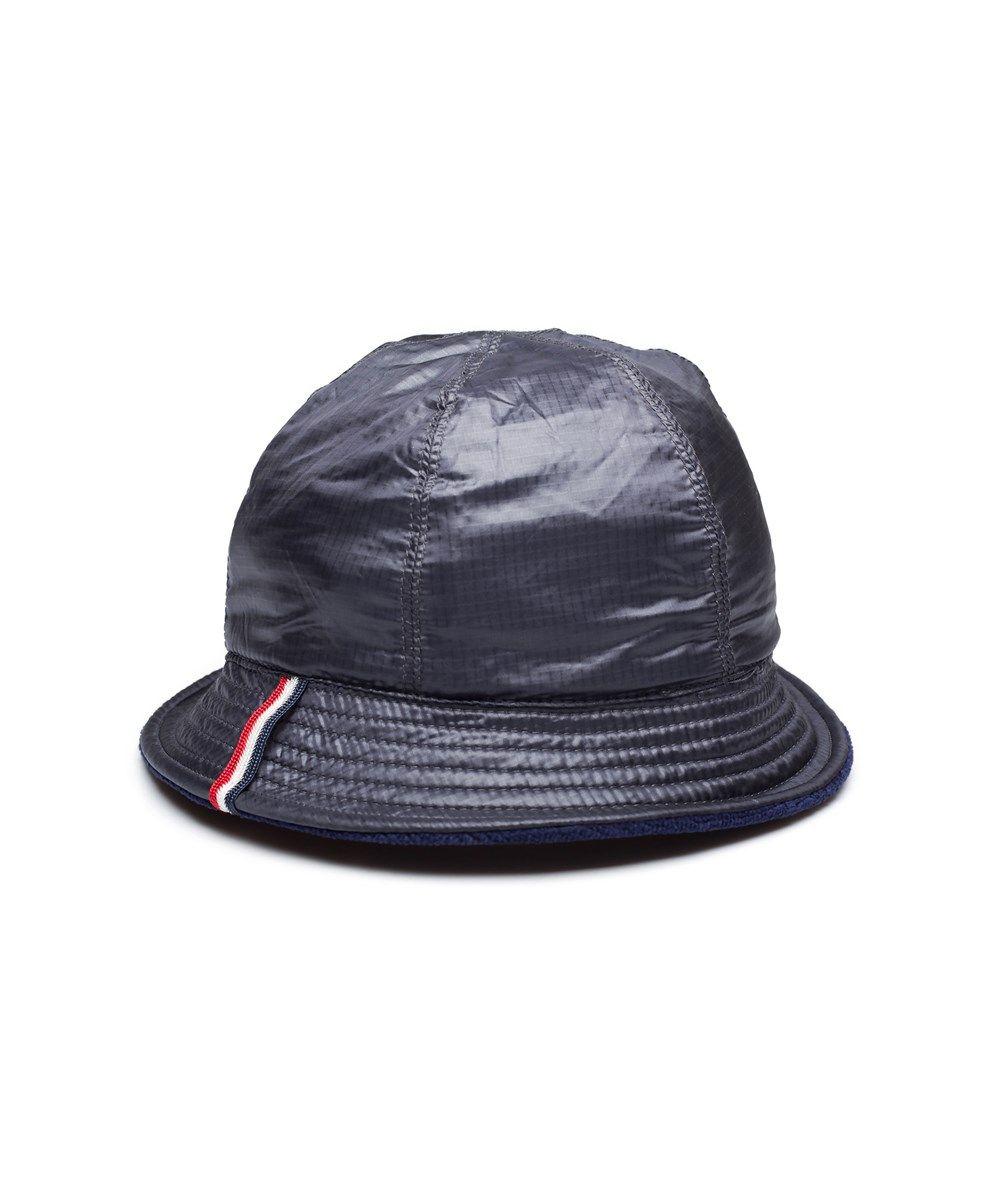 MONCLER Moncler Men S Reversible Cotton Nylon Bucket Hat Navy Blue .   moncler  hats ef060840d19