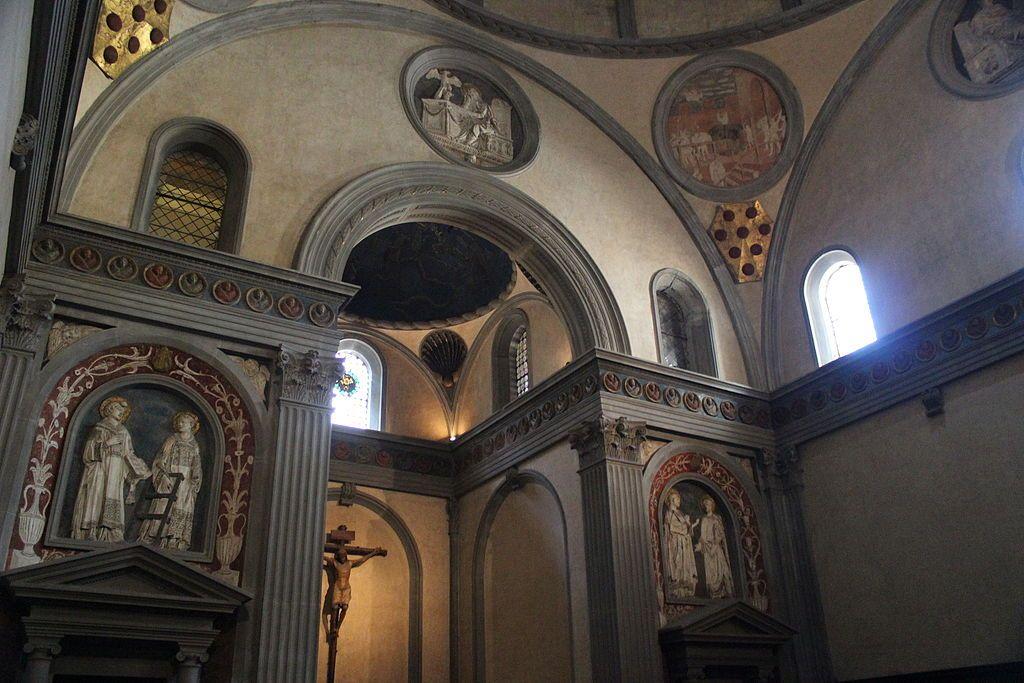 Donatello decorazioni 1428 1443 sagrestia vecchia for Sagrestia vecchia