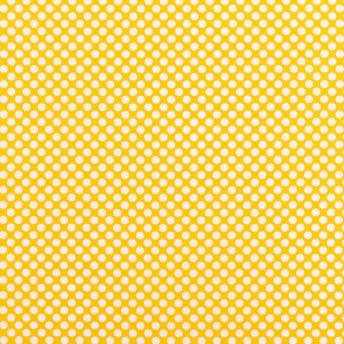 Yellow Spotty Negative Cotton Calico Fabric With Images Calico