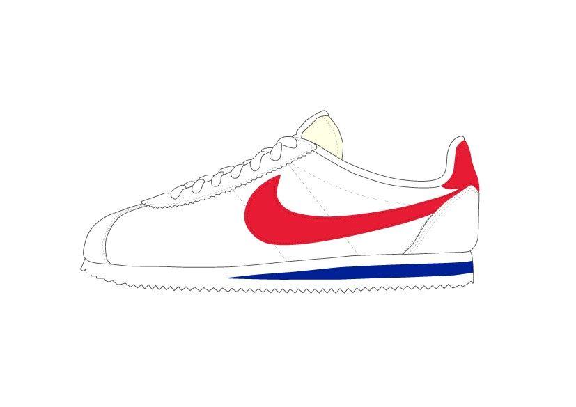2stiker nike scarpe