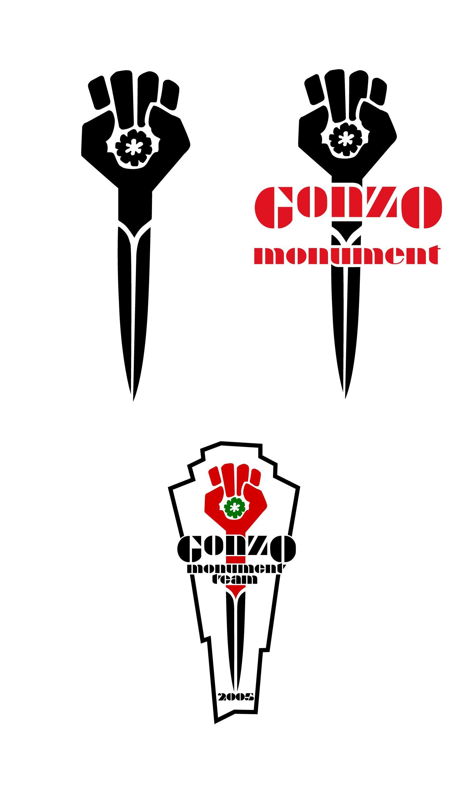 Logo For Gonzo Monument Hunter S Thompson Memorial Circa 2005