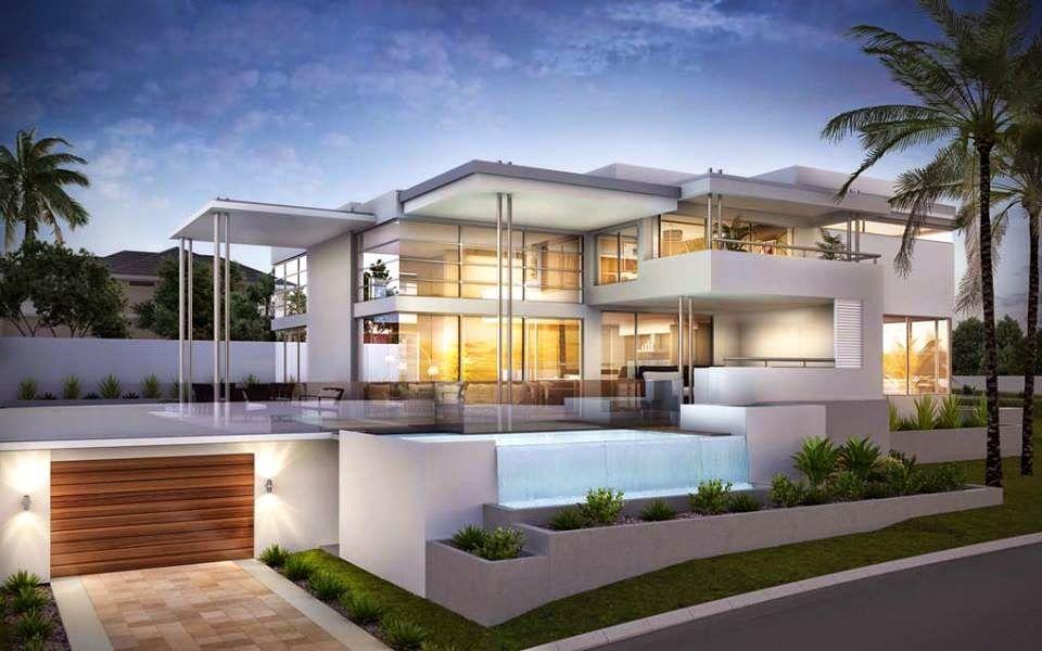 30 fachadas de casas modernas dos sonhos house casas for 30 fachadas de casas modernas dos sonhos
