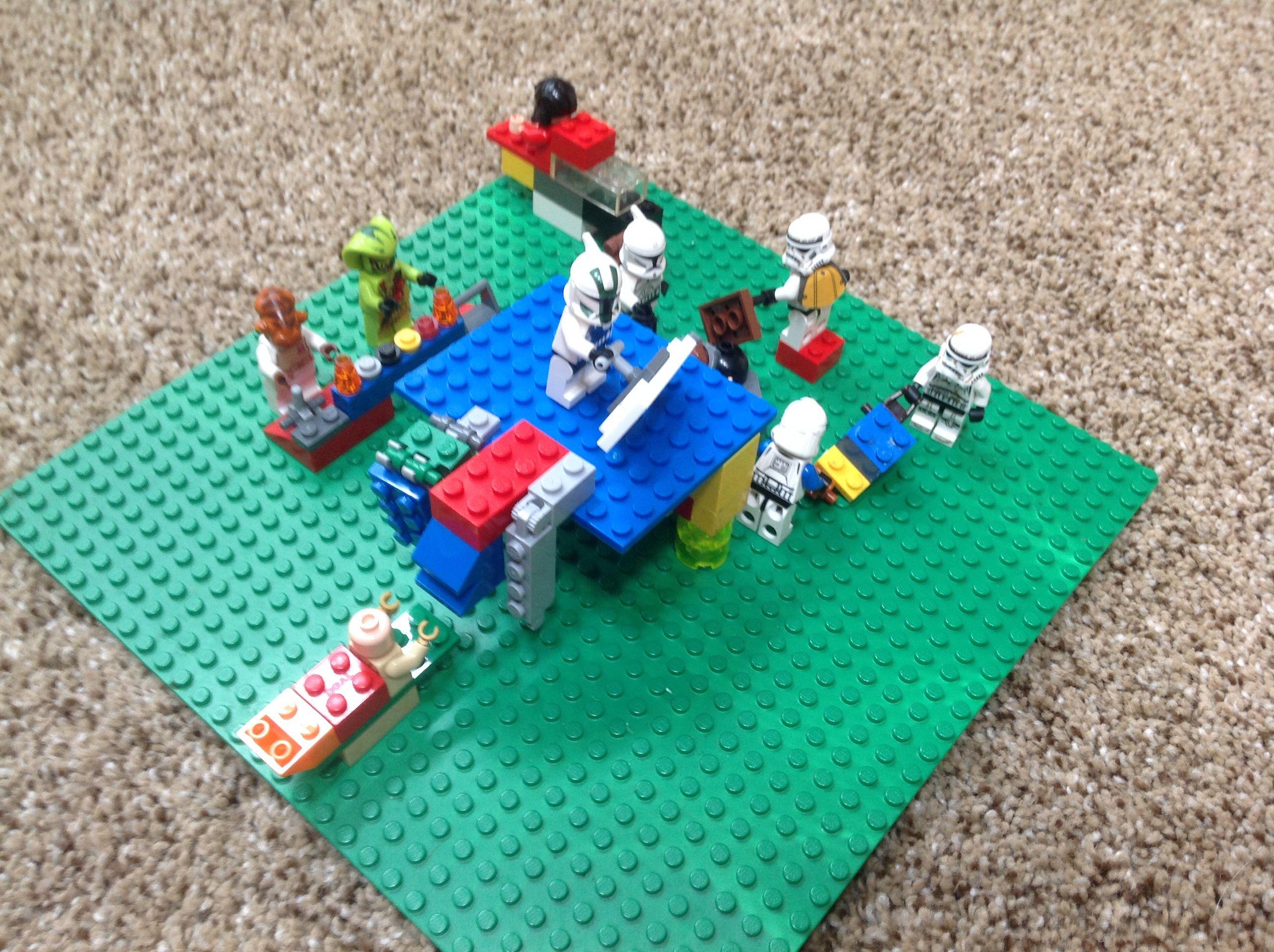 Lego car wash created by T Hanke