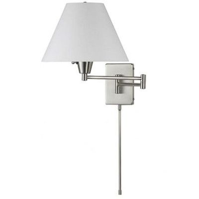 Dainolite 1 Light Swing Arm Wall Lamp Wayfair Swing Arm Wall Lamps Wall Lamp Swing Arm Wall Sconce