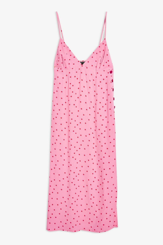 94001d8fa5471 topshop dress. topshop dress Pink Tops, Red And Pink, Polka Dot ...