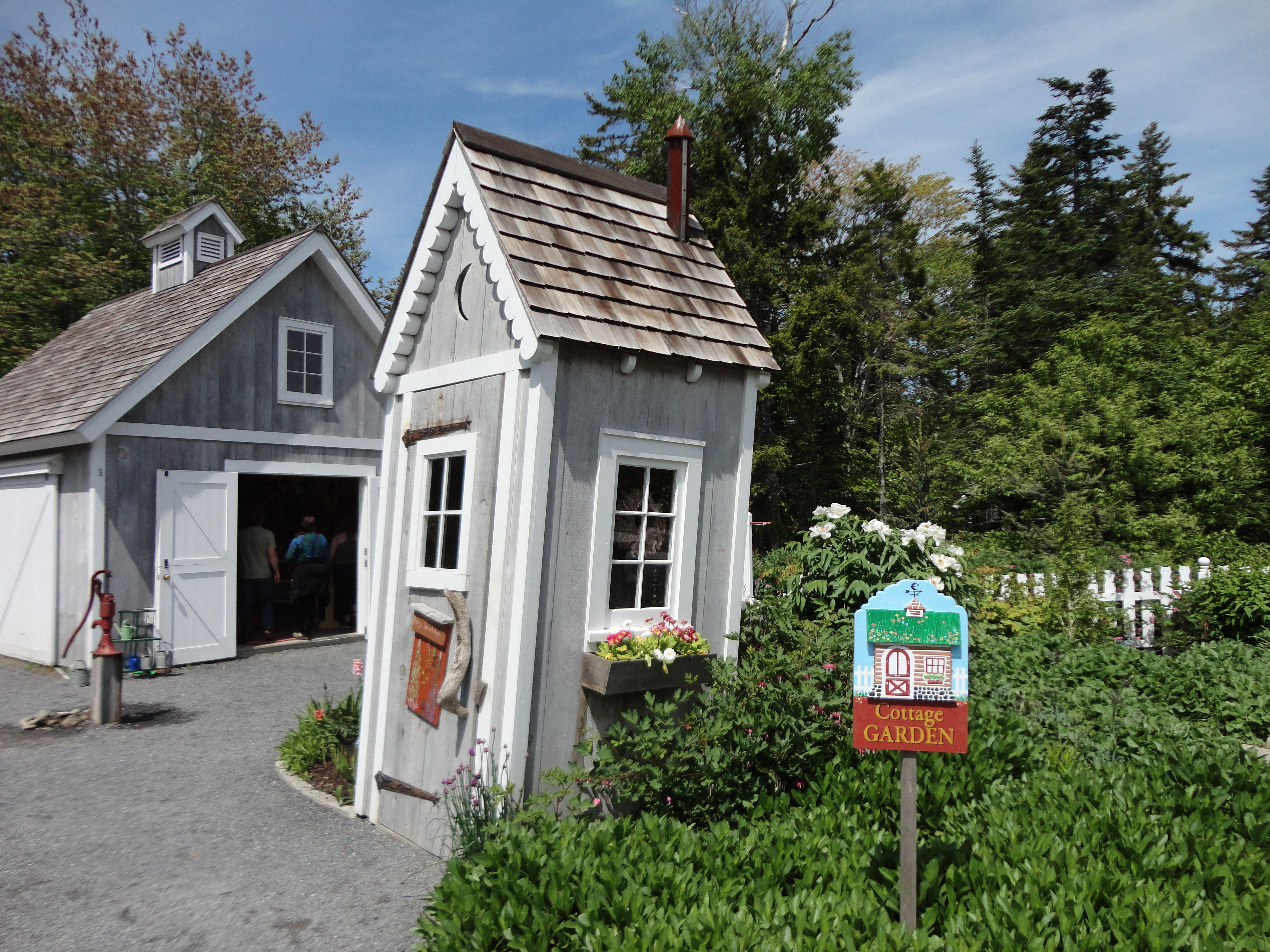 Cute little fairy house for kids.
