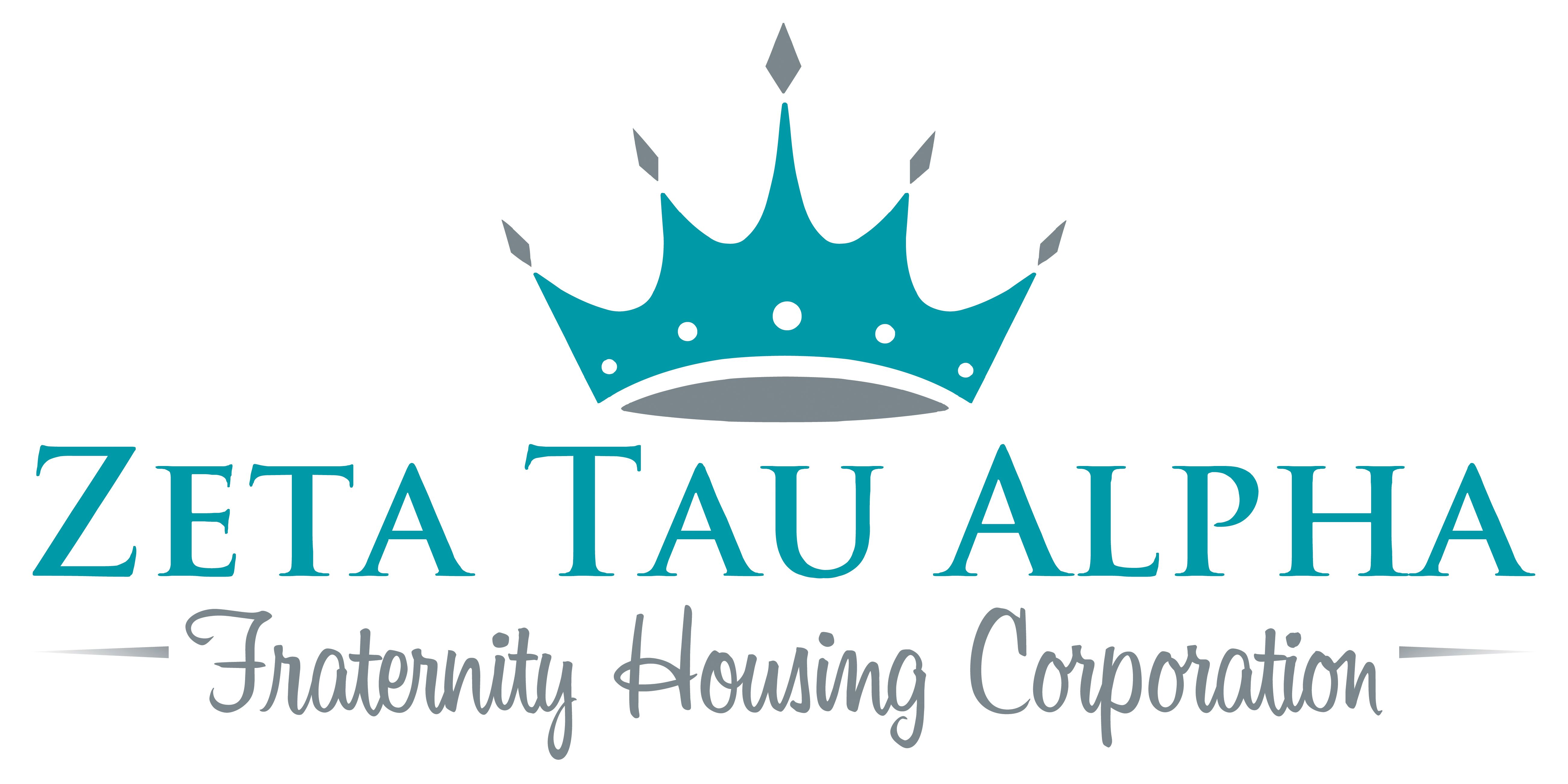 In The Logo For The Fraternity Housing Corporation And Zta