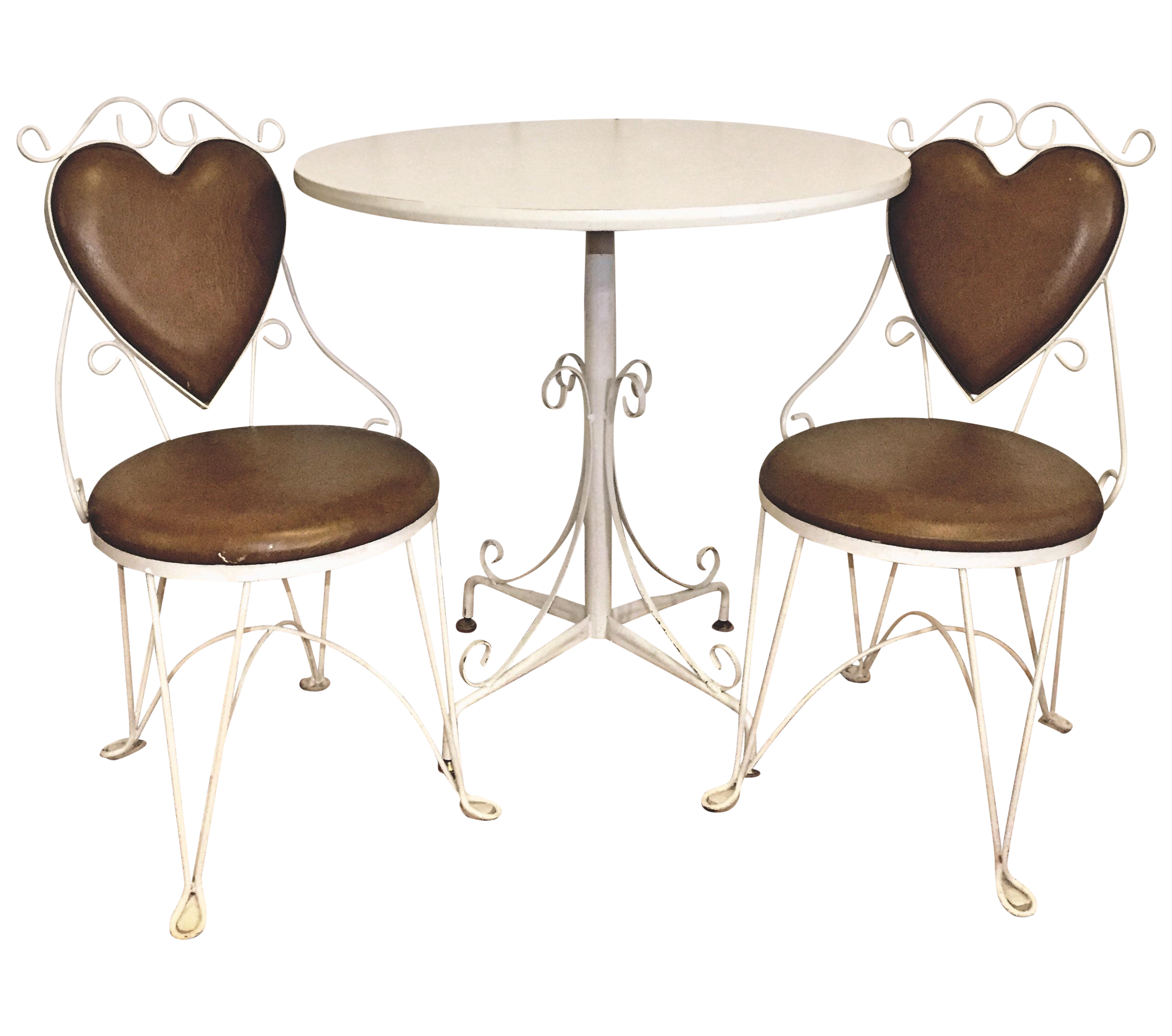 Charming Vintage Ice Cream Parlor Table