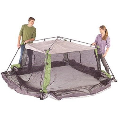 Shade Tent Screened Coleman Picnic Outdoor Camping Dining Shelter Canopy  Garden #Coleman