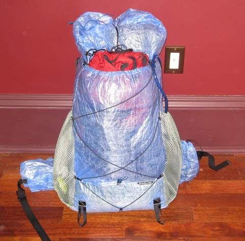 Zpacks Blast 32 Ultralight Cuben Fiber Backpack Ultralight Backpacking Gear Backpacking Backpacks