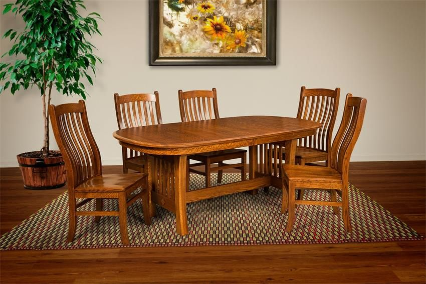Amish Mission Arts And Crafts Chair Restoration Hardware Dining