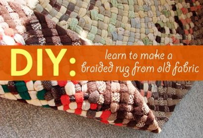 Diy braided rug do it yourself gifts home made gifts handmade diy braided rug green holiday gift guide solutioingenieria Gallery