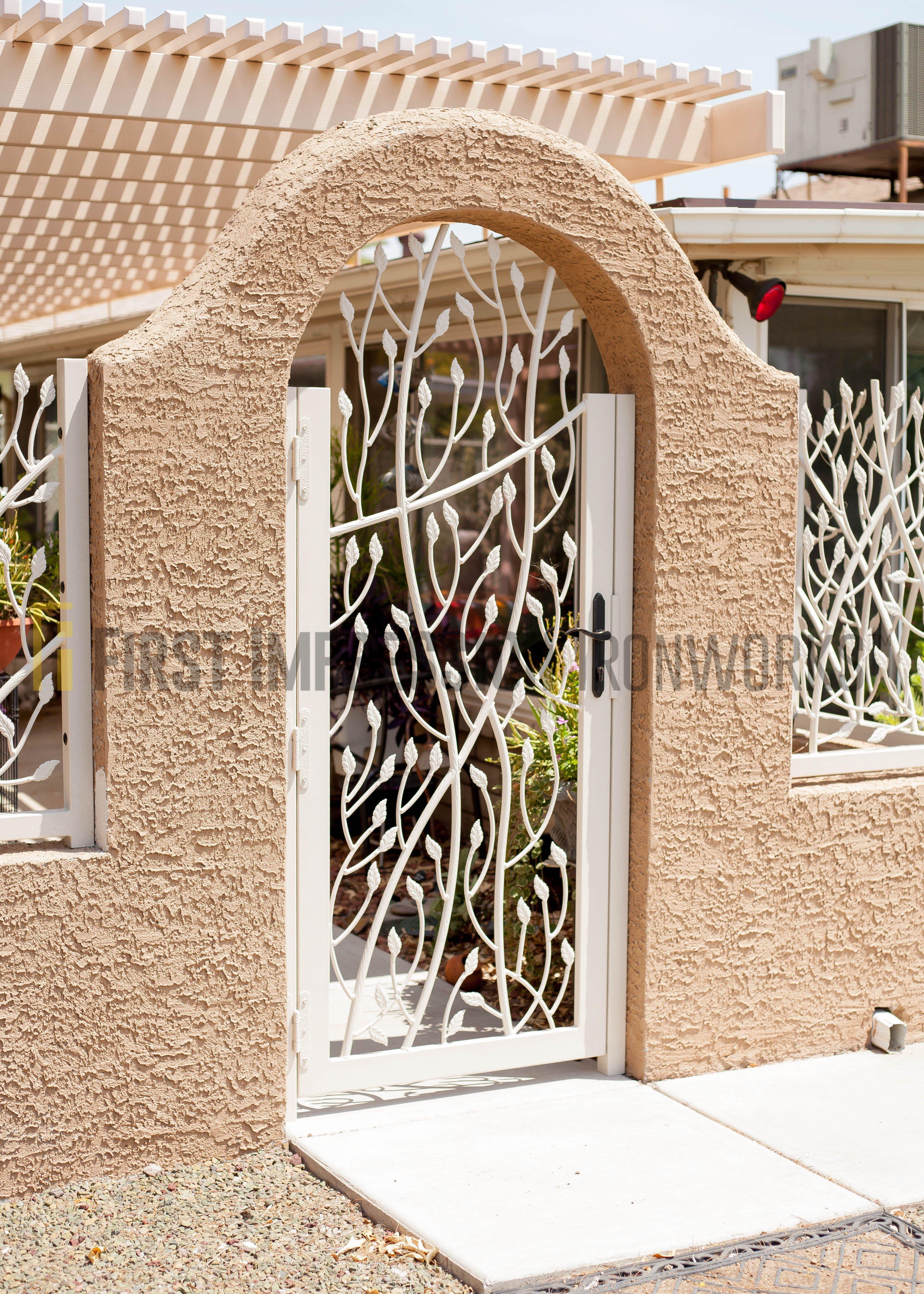First Impression Ironworks Exterior Iron Gate #ornamentaliron #irongate #customiron #ironartwork & First Impression Ironworks Exterior Iron Gate #ornamentaliron ...